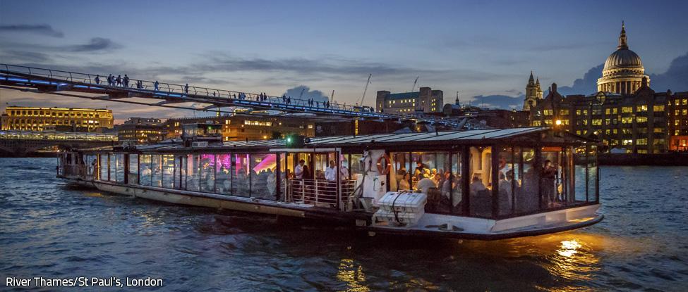 London Thames dinner cruise